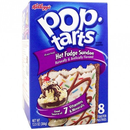 Kellogg's Pop Tarts Hot Fudge Sundae (8 pack) - A Taste of the States