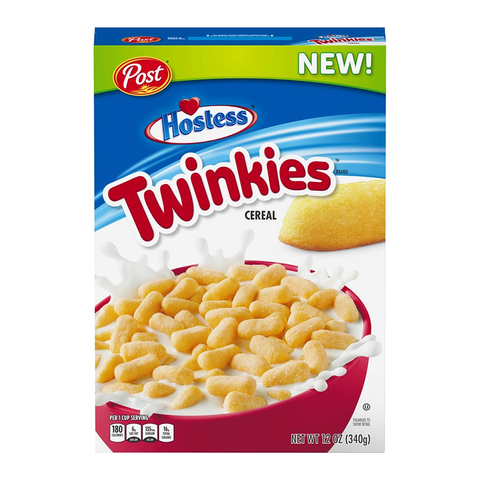 Post Hostess Twinkies Cereal (12oz) - A Taste of the States