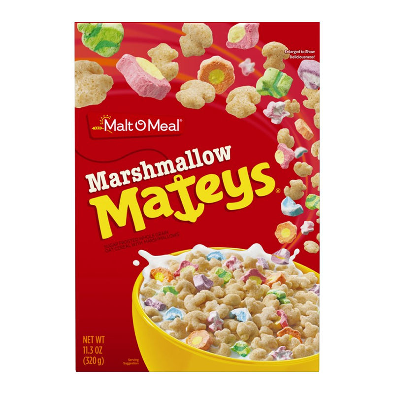 Marshmallow Mateys Cereal (11.3oz) - A Taste of the States