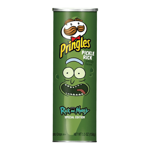 Pringles Pickle Rick: Rick & Morty Special Edition (5.5oz) - A Taste of the States