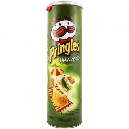 Pringles Jalapeno (5.96oz) - A Taste of the States