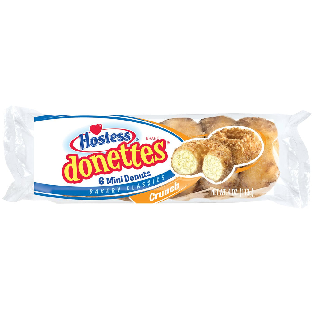 Hostess Crunch Donettes (4oz) - A Taste of the States
