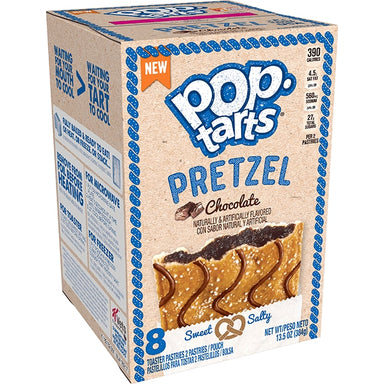 Kellogg's Pop Tarts Pretzel: Chocolate (8 Pack) - A Taste of the States