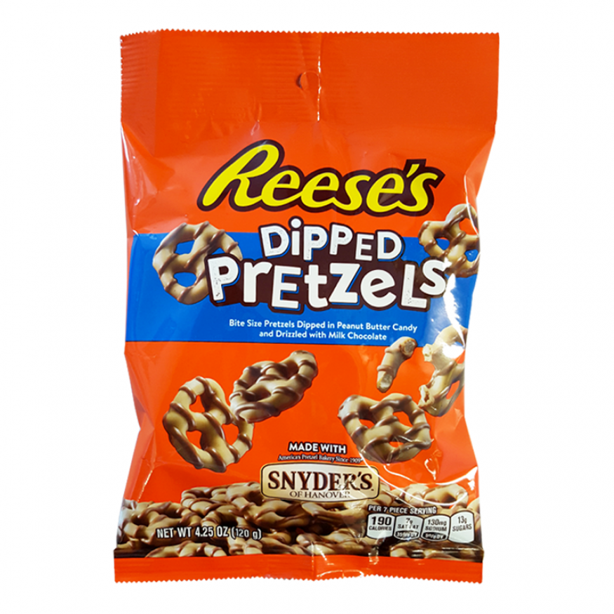 Reese's Dipped Pretzels (120g) - A Taste of the States
