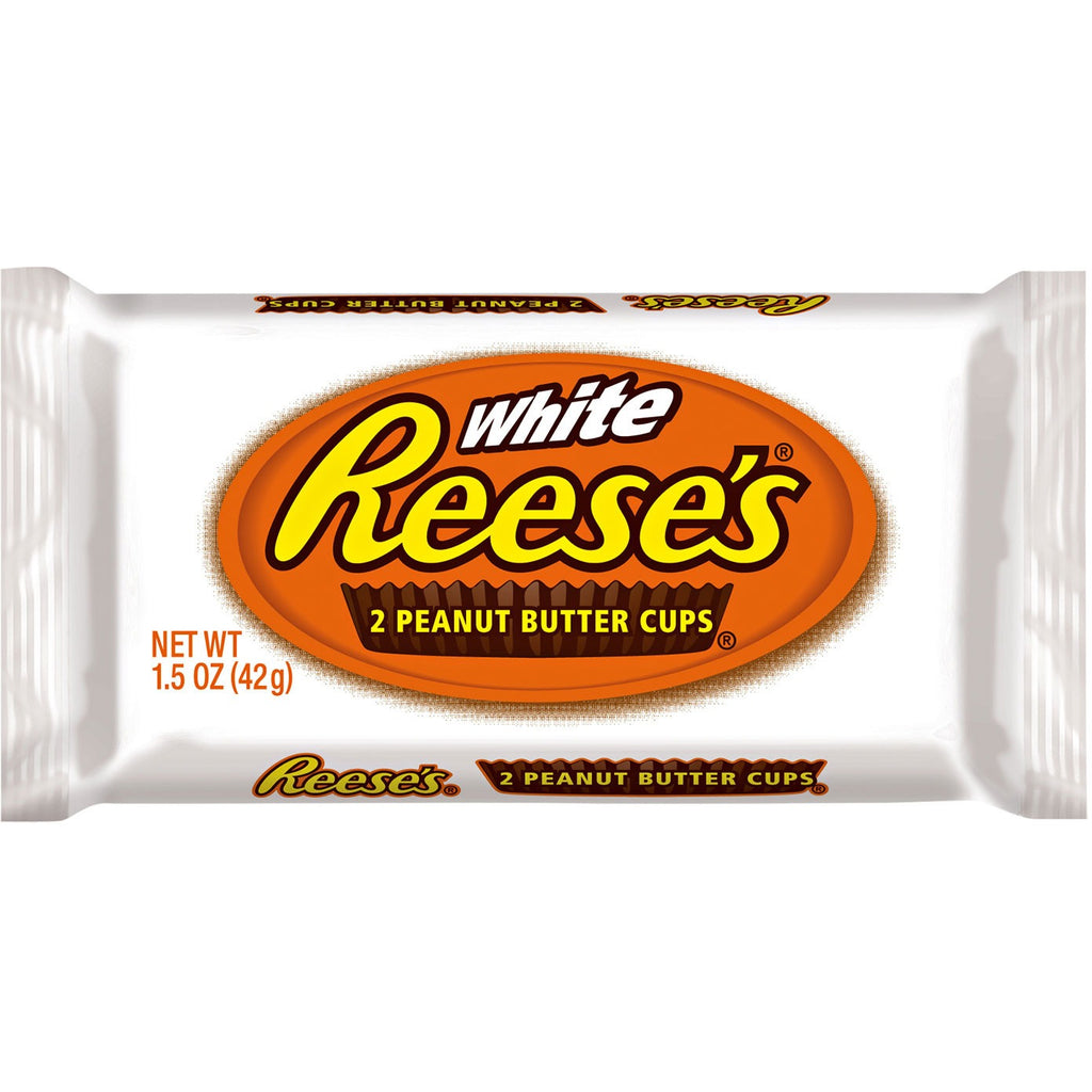 Reese's White Peanut Butter Cups 2 (42g) - A Taste of the States