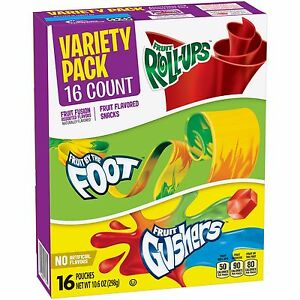 Betty Crocker Fruit Snack Variety Pack (16 pouches)