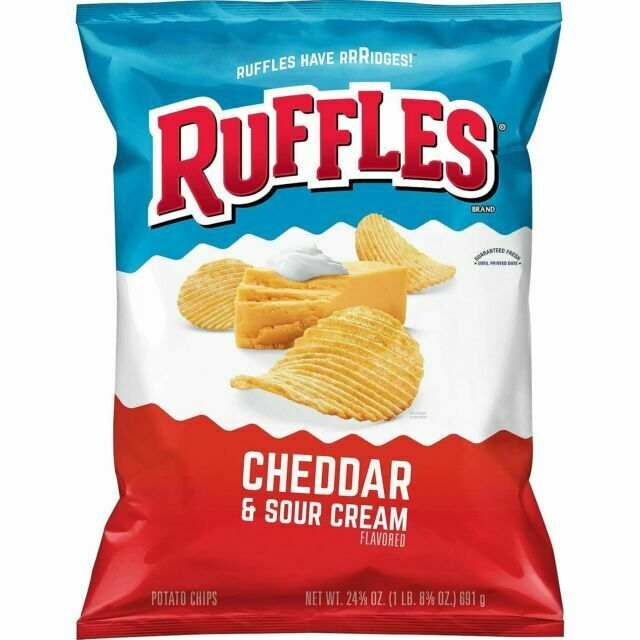 Ruffles Cheddar & Sour Cream (6.5oz)