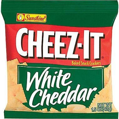 Cheez-It White Cheddar Crackers (42g) 1.5oz - A Taste of the States