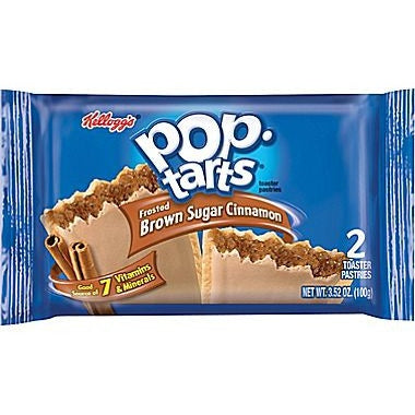 Kellogg's Pop Tarts Frosted Brown Sugar Cinnamon (2 pack) - A Taste of the States