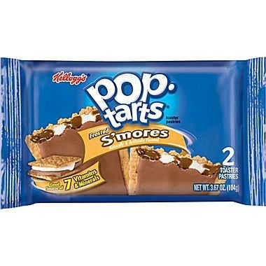 Kellogg's Pop Tarts S'mores (2 pack) - A Taste of the States