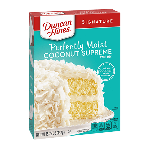 Duncan Hines Coconut Supreme Cake Mix (432g)