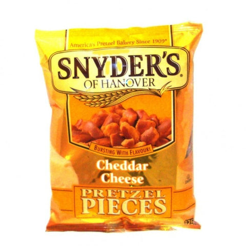 Snyder's Pretzel Pieces - Cheddar Cheese (125g) - A Taste of the States