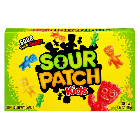Sour Patch Kids Originals Theater Box (3.5oz) - A Taste of the States