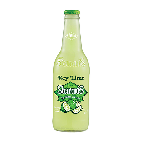 Stewart's Key Lime Soda (12fl.oz)