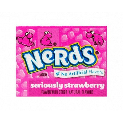 Wonka Nerds Strawberry (Mini) - A Taste of the States