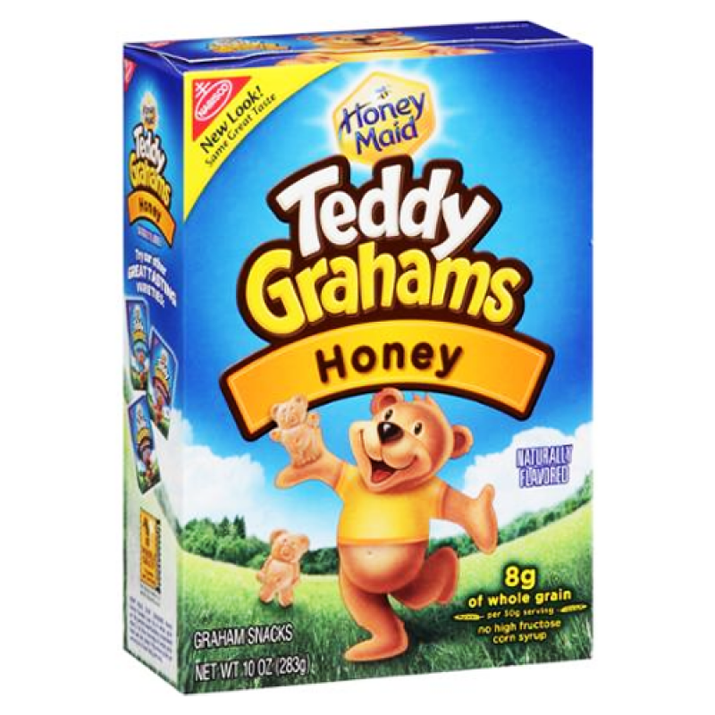Nabisco Honey Teddy Grahams 10oz (283g) - A Taste of the States