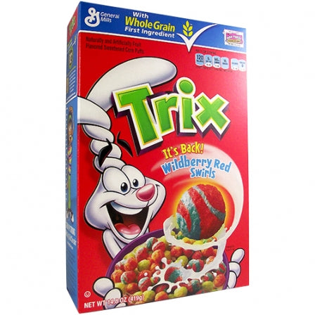 General Mills Trix Cereal - Big Box (14.8oz) - A Taste of the States