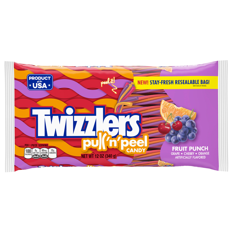 Twizzlers Fruit Punch Pull-n-Peel (12oz)