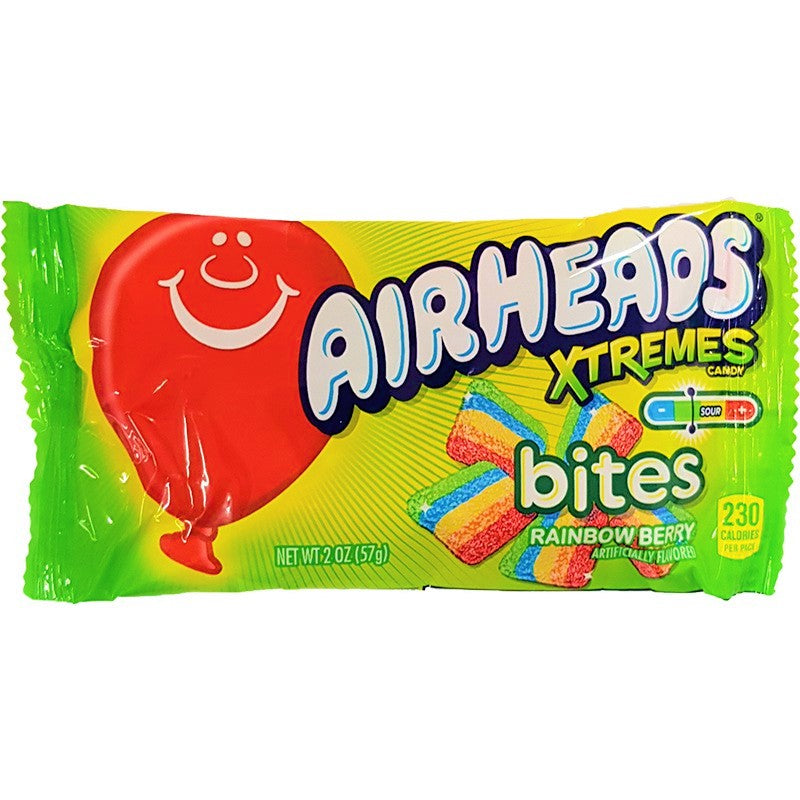 Airheads Xtremes Bites Rainbow Berry  (2oz) 57g