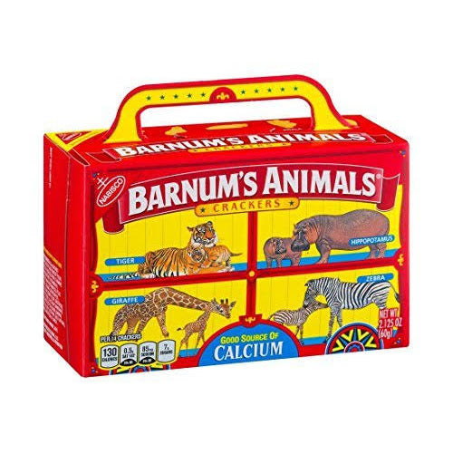 Barnum's Animals Crackers (2.125oz) [BB 04/20] - A Taste of the States