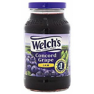 Welch's Concord Grape Jam 18oz (510g) - A Taste of the States