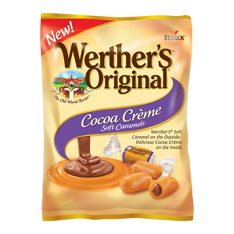 Werther's Original Cocoa Creme Soft Caramels (2.2oz)