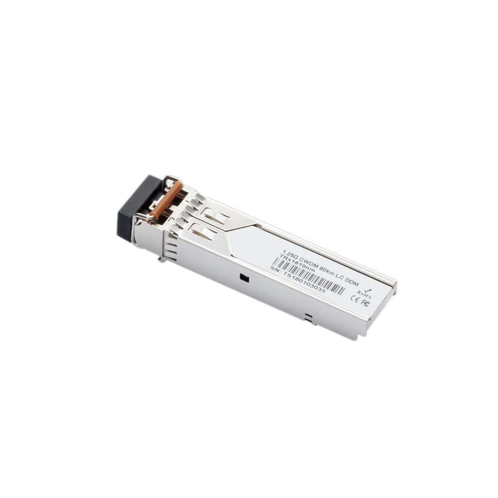 1.25Gb/s 80Km 1370Nm Cwdm Sfp Transceiver