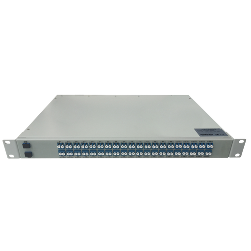 1U Rackmount Aawg Dwdm Optical Transmission