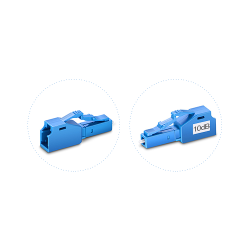 Customized LC Fixed Fiber Optic Attenuator, SM/MM, Male-Female, 1~25dB Optional