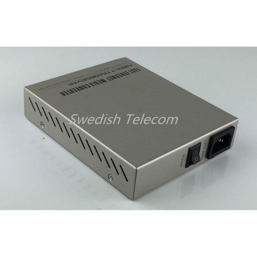 1+1 Protection 2×1.25G Sfp To 10/100/1000M Tx Remote Standalone In-Band Managed Media Converter