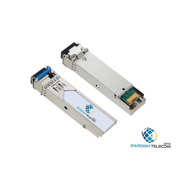 Bidi Sfp Tx1550(1490)/rx1310Nm 40Km Bidi SWEDISH TELECOM OPTO, CISCO ,ARISTA , ALCATELL, DLINK, EXTREME, HP, H3C,