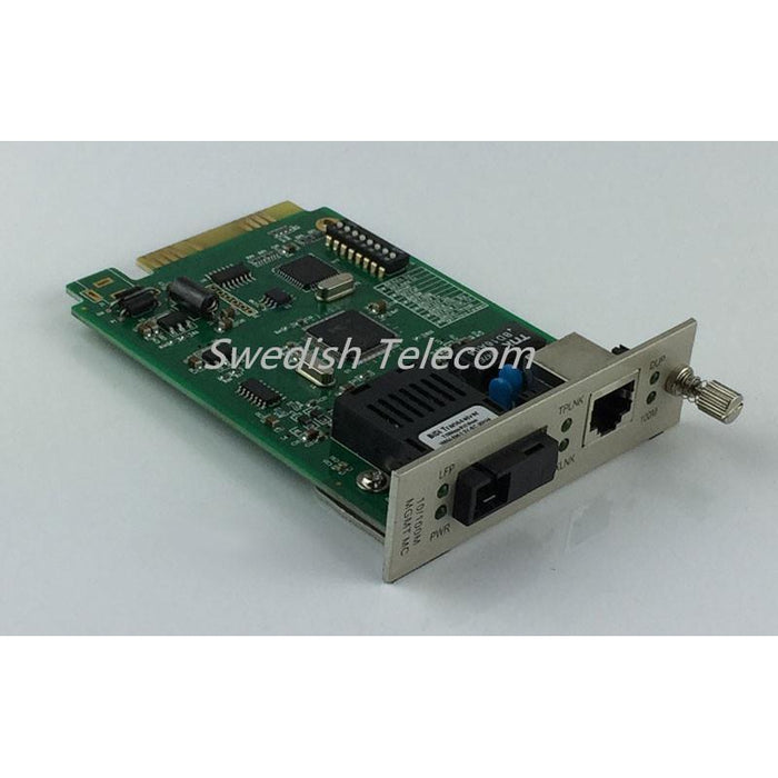 10/100M Sfp Local Card Converter (Fx:sm 1310Nm 20Km Sm Sc 20Km/40Km Local) Managed Media Converters