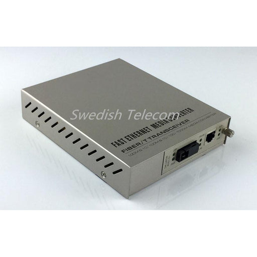 10/100Base-Tx To Sfp Managed Media Converter Remote Standalone Converters