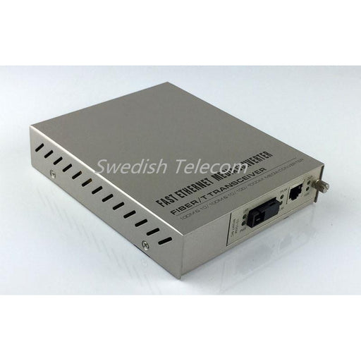 10/100M Sfp Remote Standalone Converter (Fx:sm 1310Nm 20Km Sm Sc 20Km/40Km Local Standalone) Managed