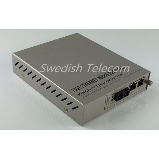 10/100/1000M 1-Sfp+2Tp Media Converter Sfp To 2Rj45 Remote Standalone Managed Converters