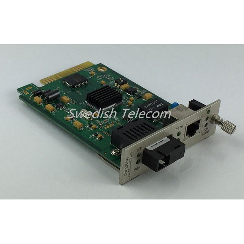 10/100/1000M Media Converter Fx:sm 1310Nm 20Km Sc Local Card Managed Converters