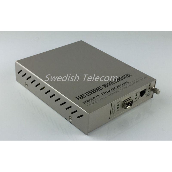 10/100/1000M Sfp Remote Converter (10/100/1000M Standalone) Managed Media Converters