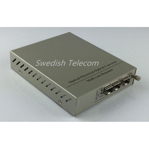 1+1 Protection 2×1.25G Sfp To 10/100/1000M 1.25G Remote Standalone Managed Media Converters