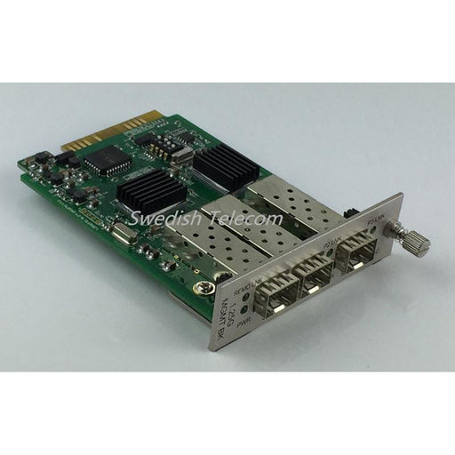 2×1.25G Sfp To 10/100/1000M 1.25G Local Card Managed Media Converters