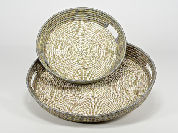 Handwoven Trays - Large and Medium - Trade