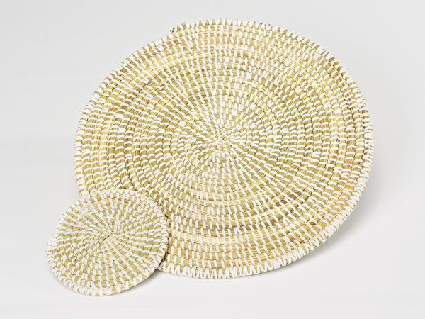 Artisanne Handwoven placemat natural