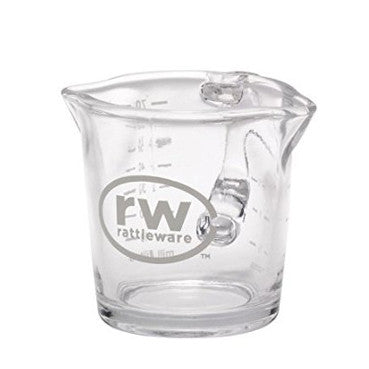 Shot Glass, Double Spouted - Rattleware