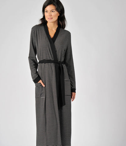 Power Stripe Robe