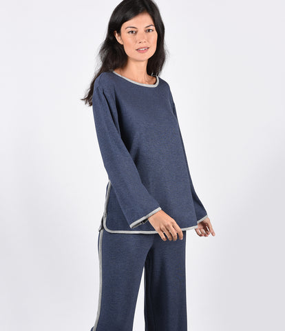 Button Down PJ Set