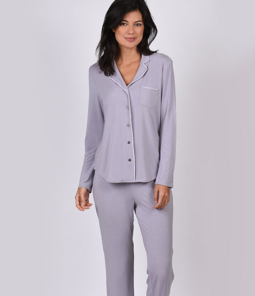 Luxury PJ With Contrast Piping