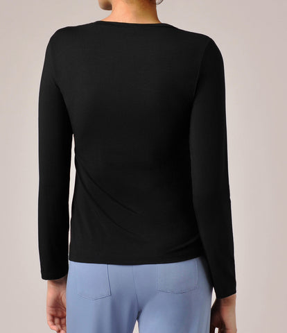 Luxury Modal Long Sleeve Top