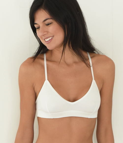 Everyday Pima Cotton Bralette