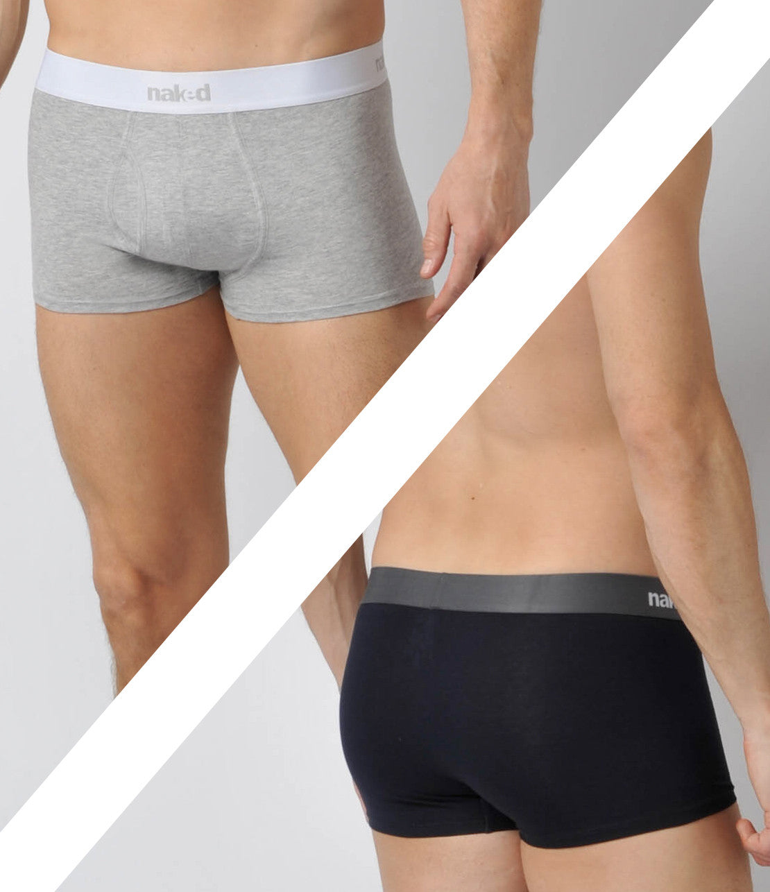 Essential Cotton Stretch Trunks 2-Pack