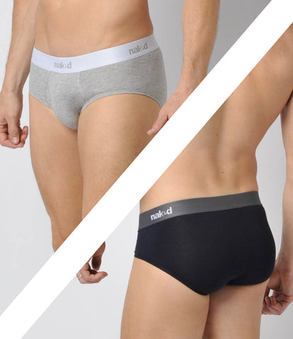 Essential Cotton Stretch Briefs 2-Pack