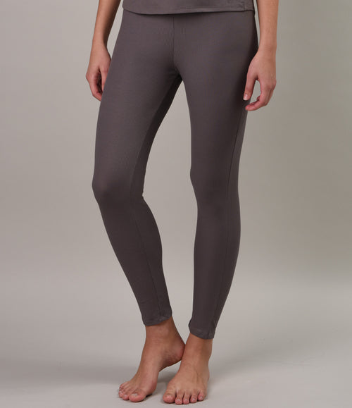 Pima Cotton Rib Sleep Pant